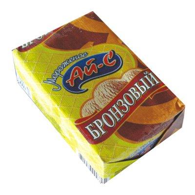 Морож. растительно-сливочное шоколадное в брикетах на вафлях